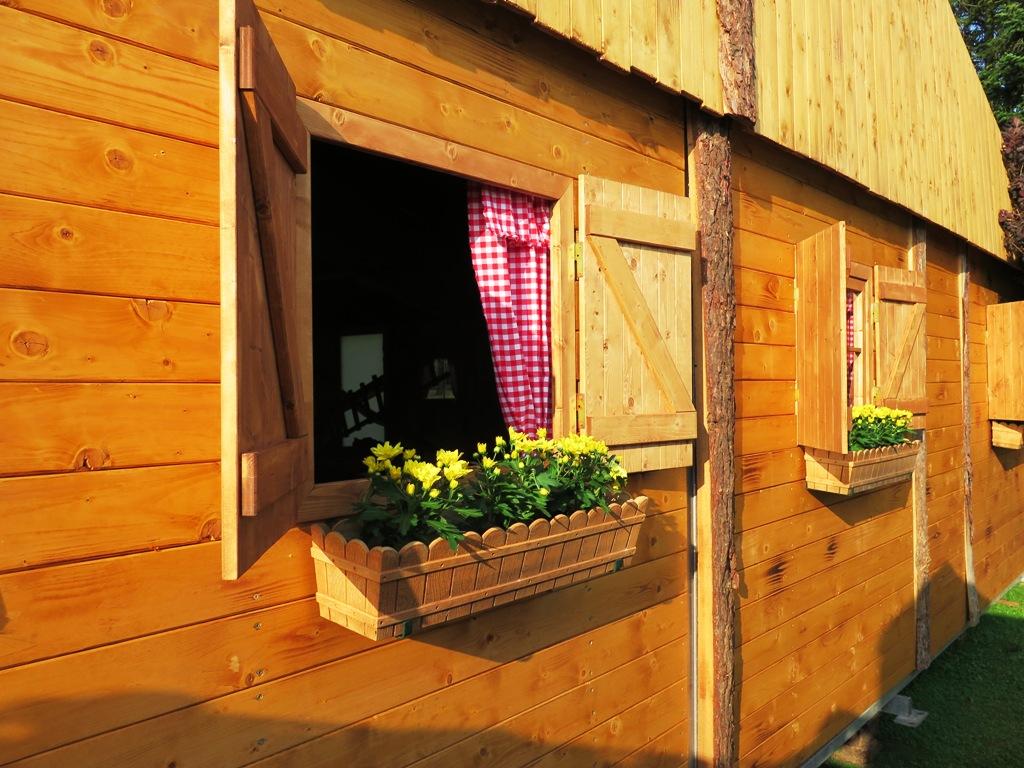 Almhuette Fenster