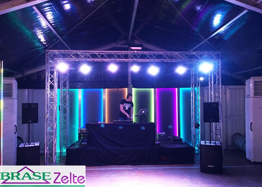 Partyzelt LED